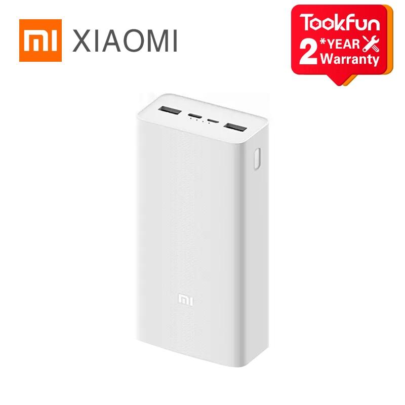 2020 Original Xiaomi Power Bank 30000mAh 18W MAX sortie haute qualité Batteries Smart rapide Charge externe Portable chargeur |