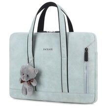 The Price Of Computer Bags 2021 Women Bag Young Style Office Laptop Sleeve Bag For Macbook Air 13 Case Men Handbag Laptoptas Sac