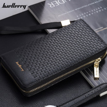 Luxury Brand Men Purse Clutch Bag Male Long Wallets Casual Z
