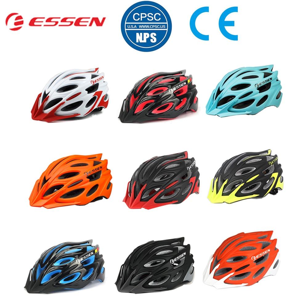 ESSEN Bicycle Helmets Men Women Cycling Helmet MTB Road In-molded Bike Smart capacete de bicicleta 2019 casco ciclismo