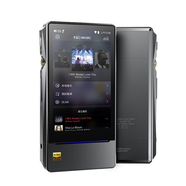 FiiO X7II with Balacned Module AM3A Android-based WIFI Bluetooth 4.1 APTX Lossless DSD Portable Music Player,FiiO MP3 X7II 2