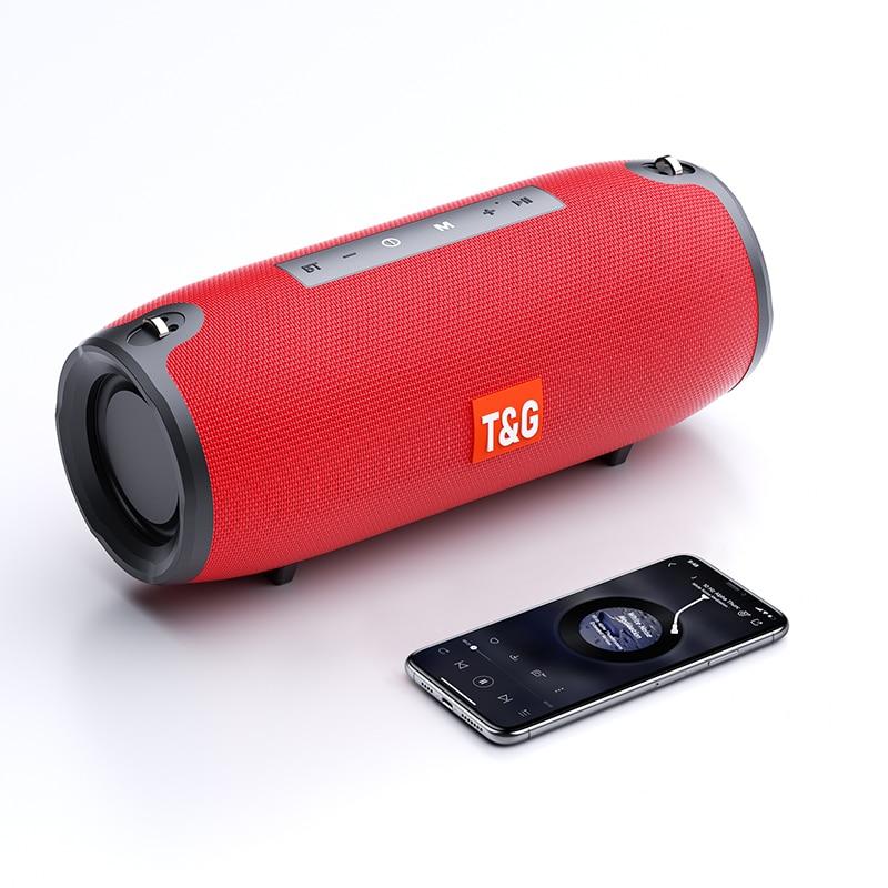 Portable Bluetooth Speakers Wireless Outdoor Waterproof Bass FM Radio TF USB AUX