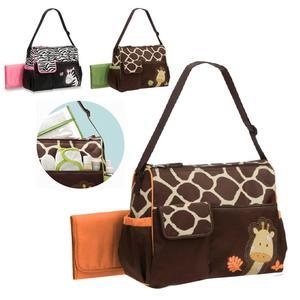 Hot Giraffe Zebra Mummy Bag Large Capacity Multifunctional Foreign Trade Fashion Mummy Bag Carter Mummy Bag Diaper Bag Mummy Bag