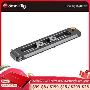 "Image 1 - SmallRig נמוך פרופיל 90mm ארוך נאט""ו רכבת 6mm עבה מהיר שחרור נאט""ו רכבת עם 1/4 "" 20 הרכבה חור עבור נאט""ו מהדק/ידית 2484"