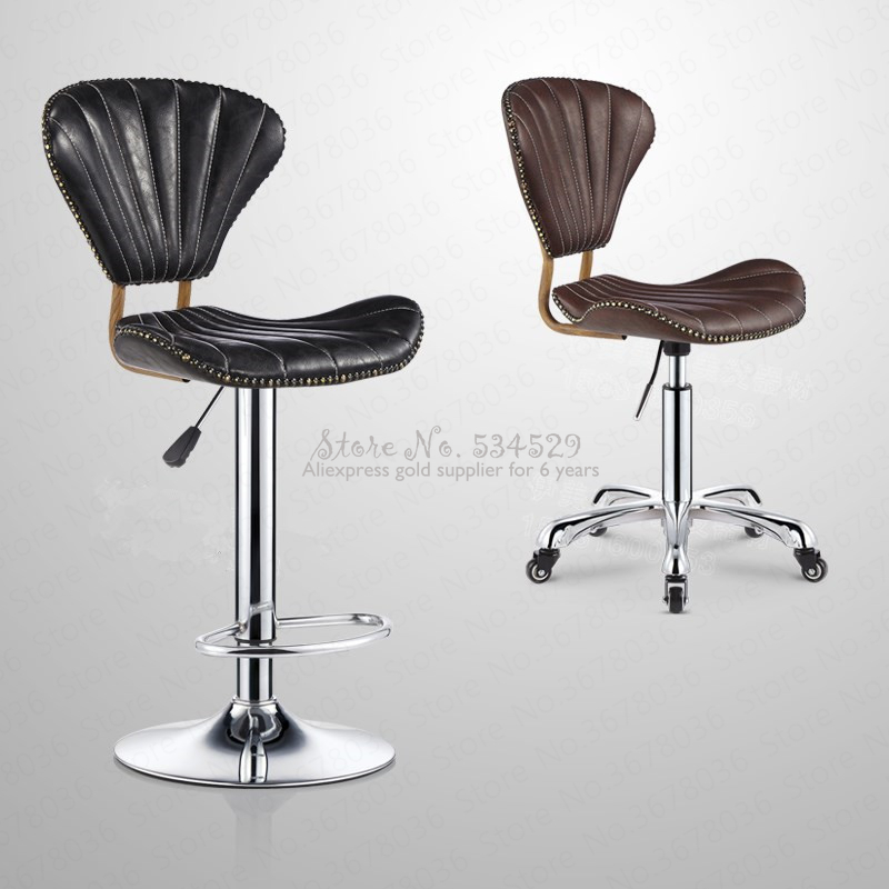 21%Beauty Chair Hairdressing Chair Nail Chair Personalized Bar Chair