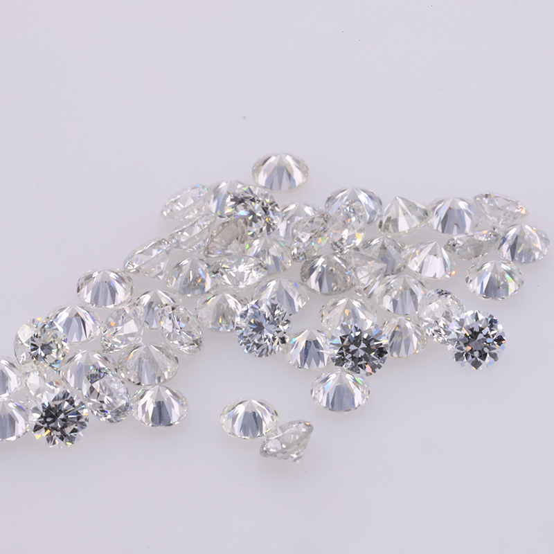 Starsgem 30pcs High Qaulity HTHP Lab Grown Diamond 2.3mm GH Lab Diamonds Bead for Jewelry making