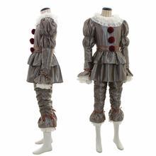 Фильм It Chapter два косплей костюм женщины мужчины клоун костюмы на Хэллоуин