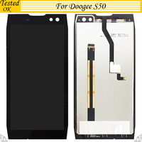 5.7 inch For Doogee S50 LCD Display+Touch Screen 100% Tested ok Screen Digitizer Assembly Replacement For Doogee S 50 LCD