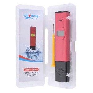 Portátil à prova dportable água orp medidor caneta qualidade da água tester solução de medição redução de oxidação negativo potencial teste caneta ferramenta