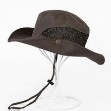 Шляпа от солнца bucket осенняя мужская и женская рыболовная