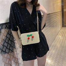 цена на Women Straw Bag Luxury Handbags Women Bags Designer Women's Shoulder Bag Casual Crossbody Bag Small Bag