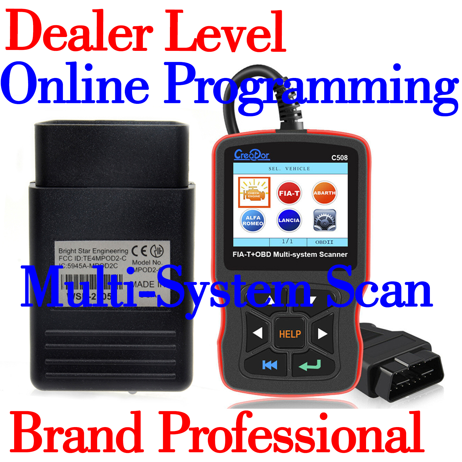 MICROPOD Micropod 2 Programming Multi-System Scanner For Chrysler FIA-T Dodge