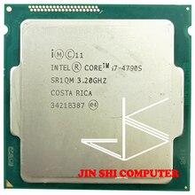 Процессор Intel Core i7-4790S i7 4790S 4 ГГц четырехъядерный восьмипоточный процессор для настольного компьютера 65 Вт 8 Мб LGA 1150 протестирован 100% рабочий