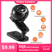 Camera Camcorder Night-Vision Mini 1080P Small HD SQ6 Surveillance-Sensor 2MP