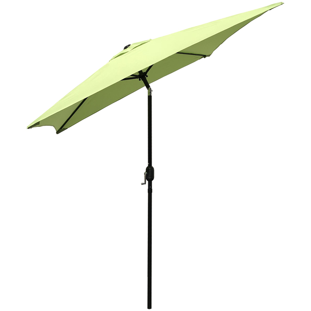 Patio Umbrella 6.5 Ft Square with Tilt and Crank 4