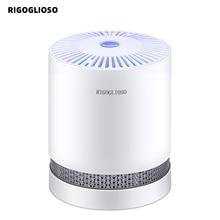 RIGOGLIOSOเครื่องฟอกอากาศสำหรับHome True HEPAตัวกรองเดสก์ท็อปเครื่องฟอกอากาศการกรองNight Light Air Cleaner GL2109