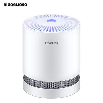 RIGOGLIOSO oczyszczacz powietrza do domu prawdziwe filtry HEPA kompaktowe oczyszczacze pulpitu filtracja z lampką nocną oczyszczacz powietrza GL2109 tanie i dobre opinie 50m³ h CN (pochodzenie) Dc12v 11-20 ㎡ Przenośne 99 99 Filtr hepa ELECTRICAL 99 00 350*160*480mm ≤55dB 4000000 sztuk m³