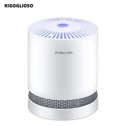 Rigoglioso Luchtreiniger Voor Thuis Ware Hepa Filters Compact Desktop Luchtreinigers Filtratie Met Nachtlampje Air Cleaner GL2109