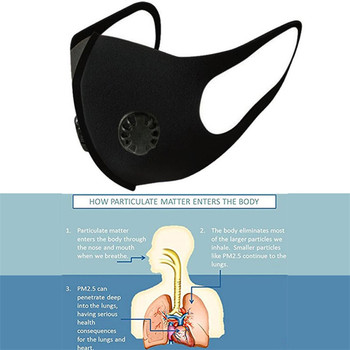 Corona Covid 19 Military Grade Anti Air Dust and Smoke Pollution Mask with Adjustable Straps