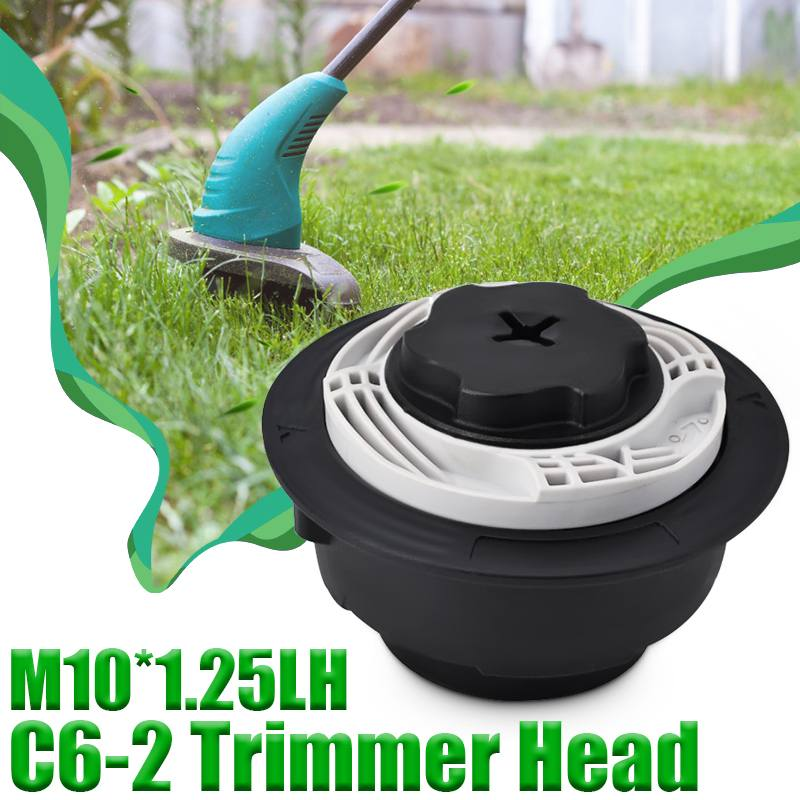 <font><b>Trimmer</b></font> <font><b>Head</b></font> Brush Cutter <font><b>Head</b></font> Thread Line For <font><b>Stihl</b></font> Autocut C6-2 <font><b>FS38</b></font> FS40 FS50 FSE81/1.25LH Lawn Mower Grass Garden Tools image