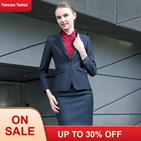 women professional wear office lady suit lady uniform blazer skirt set women work outfits office uniforms office clothes