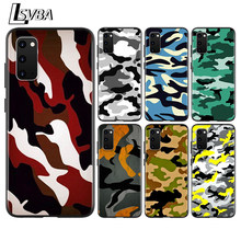 Army camo Camouflage Anti-Fall Back Cover For Samsung Galaxy S20 Ultra Plus A01 A11 A21 A31 A41 A51 A71 A91 Phone Case(China)