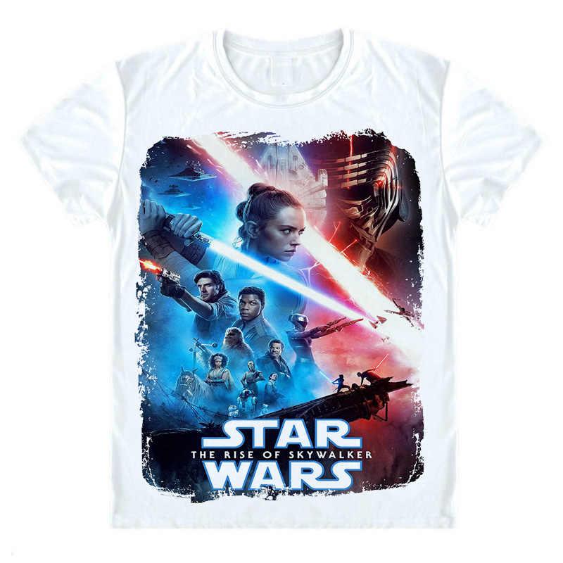 Star Wars The Rise Of Skywalker T Shirt Star Wars Episode Ix T Shirt Star Wars 9 Rey Kylo Ren T Shirt 3d Print Short Tee Shirt Aliexpress