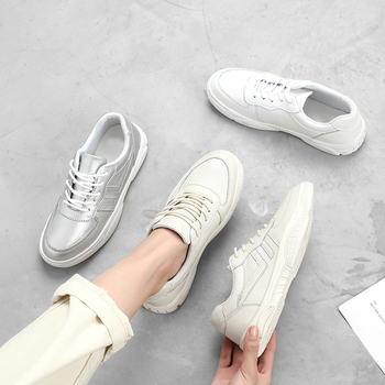 MALEMONKEY 932573 Women Sneakers Fashion 2020 Casual Shoes Flats Outdoor Breathable women sneakers shoes White Zapatos De Mujer e lov vintage design postage stamp and emblem printed canvas shoes high end customzied women casual flats zapatos mujer
