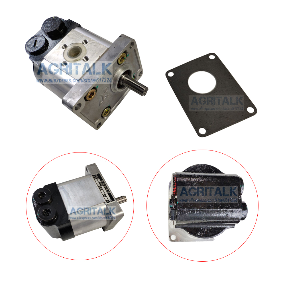 The Steering Gear Pump With Gasket For YTO X704 - X904 Tractor, Part Number: HLCB-D16/12