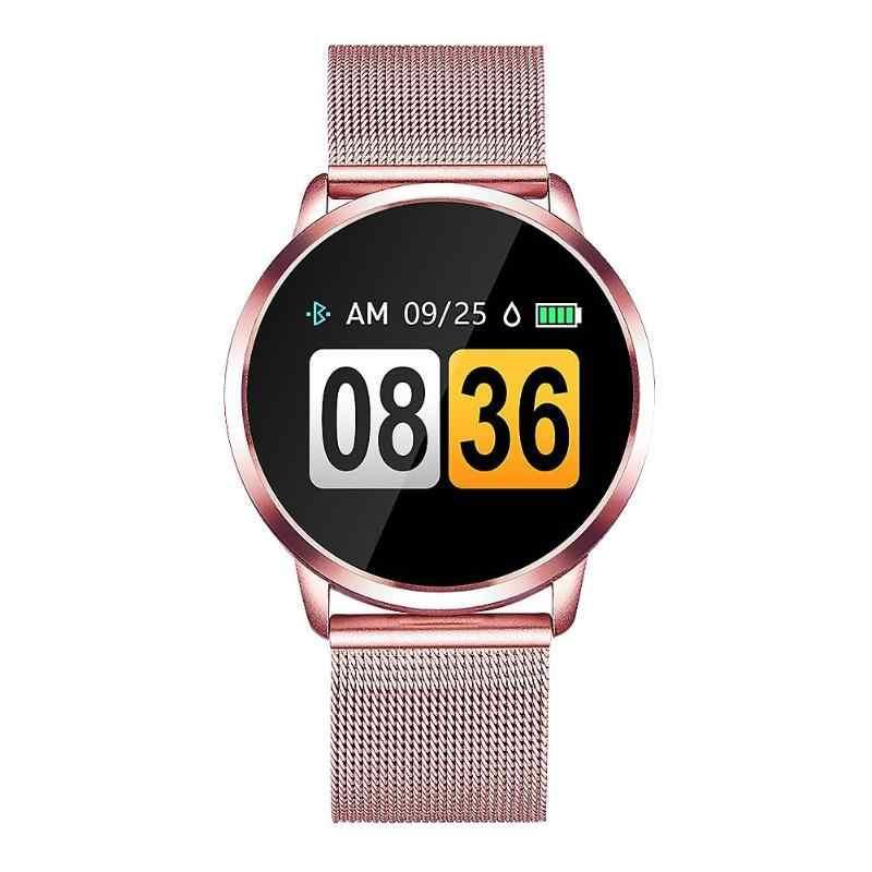 Q8 IP67 смарт-браслет для спорта сенсорный экран Шаг Подсчет пройденное расстояние одна сенсорная панель монитор сердечного ритма фитнес-трекер