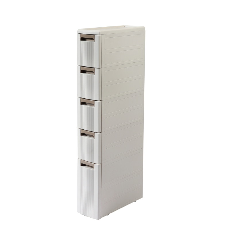 Bathroom Quilted Storage Rack Floor And Drawer Bathroom Storage Cabinet Bathroom Plastic Narrow Slit Rack Bathroom Gadgets