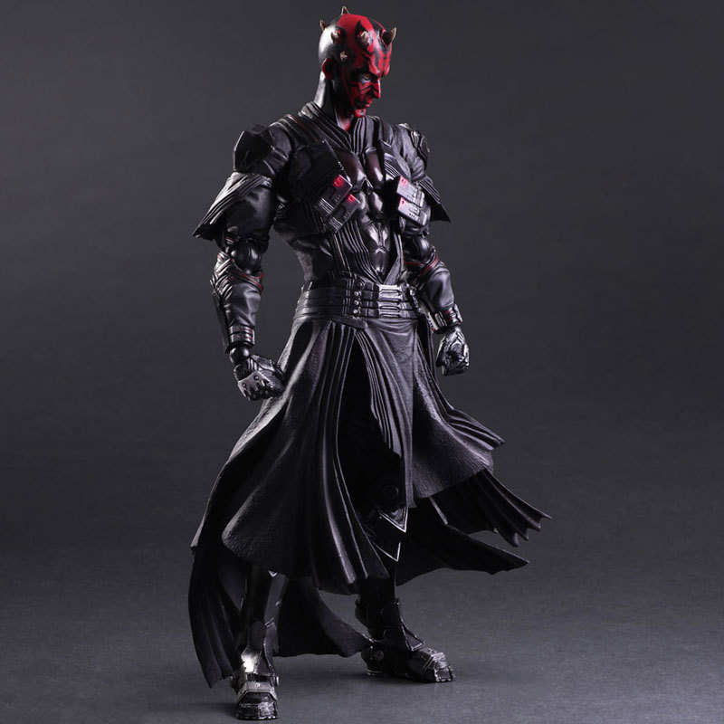 Star Wars: The Force Awakens Darth Maul 26cm Anime Figure Doll Collections Children Toys Gift 3