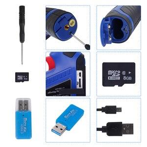 Image 5 - XEAST 열 화상 카메라 이미지 핸드 헬드 2.4 인치 컬러 스크린 8G SD 카드 주변 습도 XE 26/XE 27/XE 28