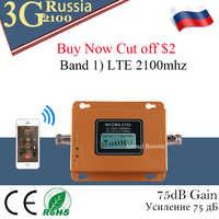 Rosja 3G Ripetitore 2100MHz wzmacniacz LCD WCDMA 2100 MHZ telefon komórkowy mini wzmacniacz sygnału wzmacniacz sygnału telefonu komórkowego wzmacniacz