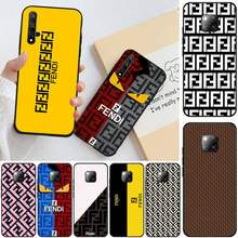 Italy luxury trend FENDI Bling Cute Phone Case For Honor 20 20lite view20 7C 8C 7A 8A 10i 20i PLAY 9X Pro(China)
