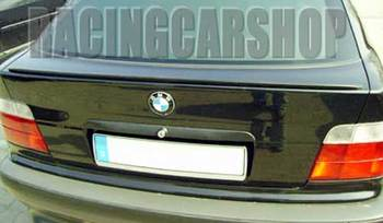 UNPAINTED TRUNK BOOT LIP SPOILER PU fit for BMW E36 1992-1998 B002F 1