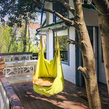 Child Indoor Outdoor Swing Pendent Sofa Sleeping Bean Bags Kid Nest Tree House Hammock Chair Inflatable Cushion Boys Girls Gifts