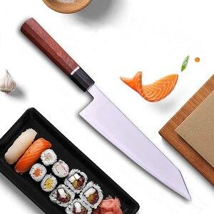 Image 4 - Cuchillo de cocina japonés con mango octagonal, HAP40, Kiritsuke Sashimi, Sushi, Gyuto