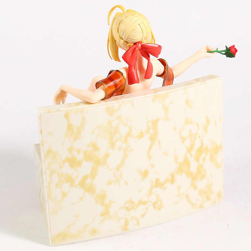 Fate Extra Terakhir Encore Saber Jubah Mandi Ver. PVC Sosok Collectible Model Mainan