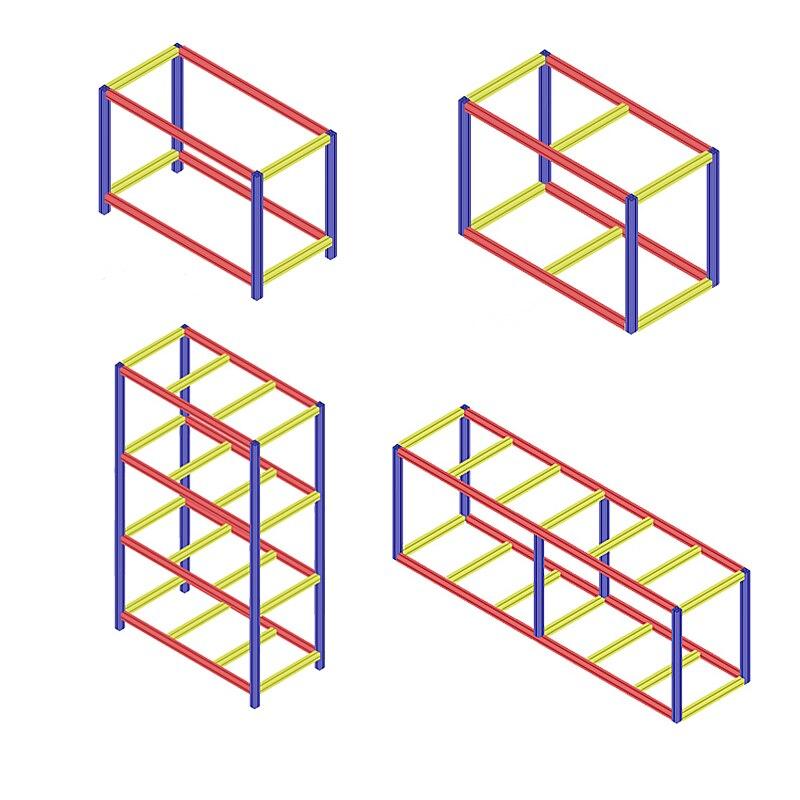 three dimensional connector (11)