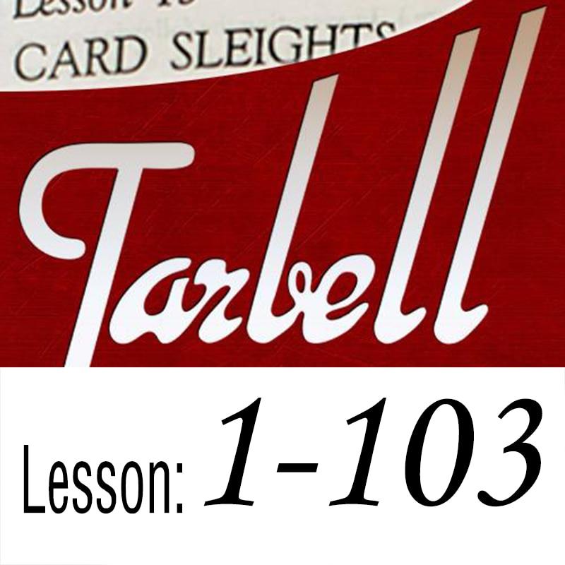 Tarbell By Dan Harlan Vol.1 - Vol.103  Magic Tricks