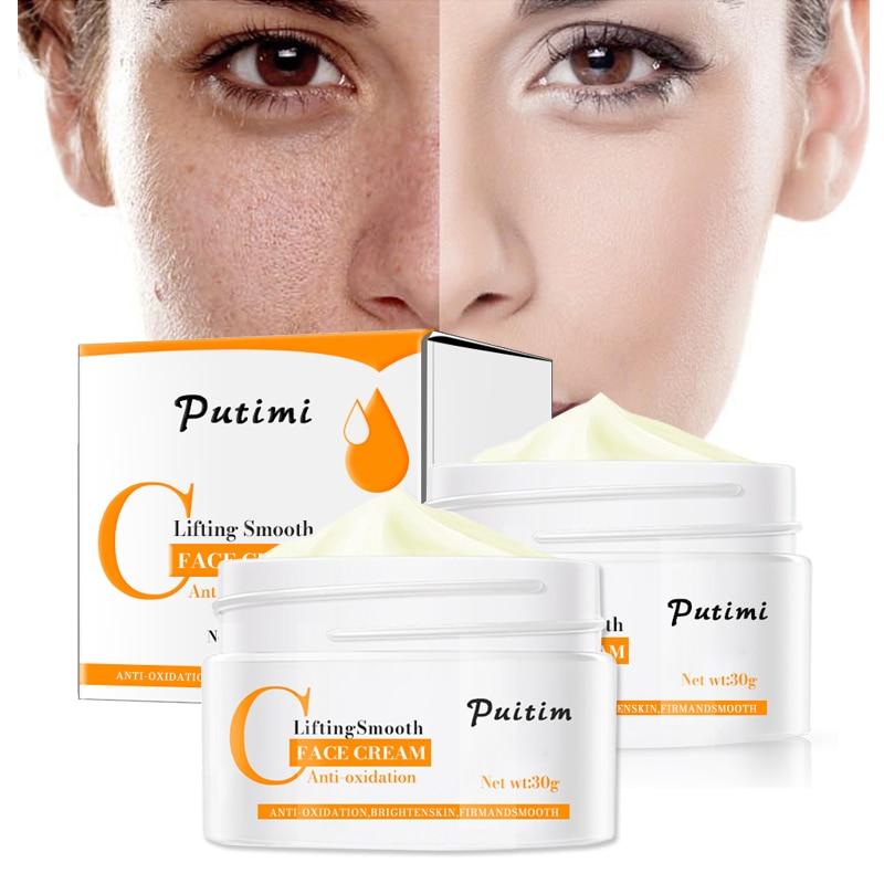 PUTIMI Anti Wrinkle Face Cream Anti-Oxidation Brighten Moisturizer Nourishing Lifting Firming Repair Skin Care Whitening Cream 5