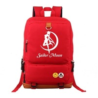 Anime Pretty Girl Warrior Sailor Moon Backpack Travel Bag Computer Bag Schoolbag Currently Available Supply