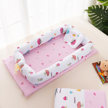 Cradle Nest-Bed Baby Cotton with Pillow Portable Crib Travel Infant for Bed-Bumper Sleeping-Basket