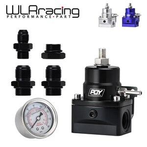 Image 1 - WLR RACING   AN8 고압 연료 조절기 부스트 8AN 8/8/6 EFI 연료 압력 게이지 WLR7855