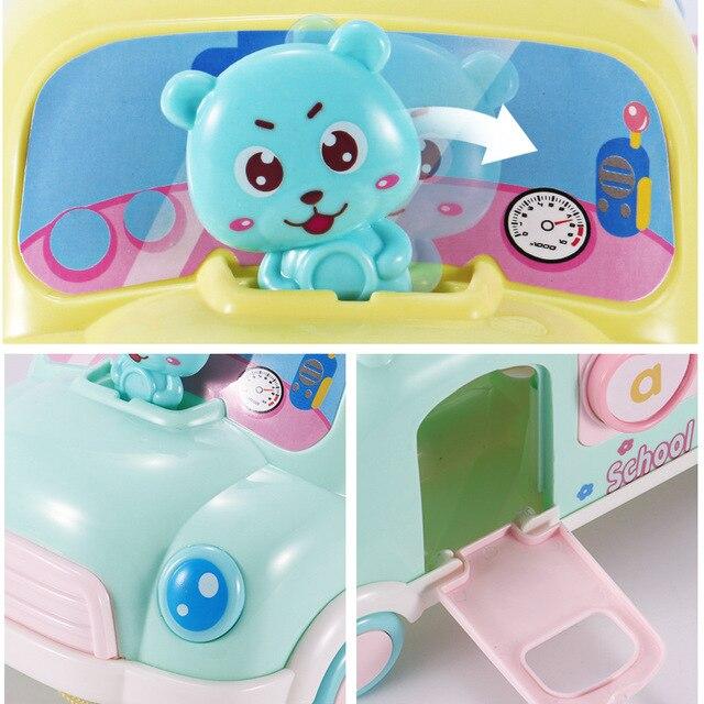 Xilófono de plástico para autobús o coche, juguete de música para niños de 1 a 3 años, juguete móvil educativo para niños y niñas