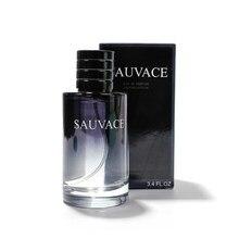 Sıcak marka parfüm erkekler için cam şişe erkek parfüm ahşap lezzet süren koku spreyi orijinal beyefendi erkekler için parfüm