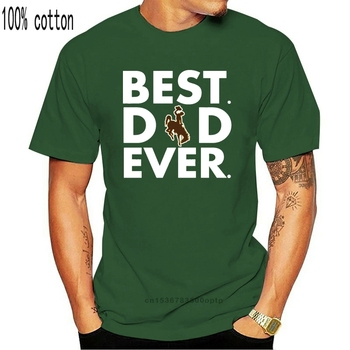 Happy Fathers Day Best Dad Ever Bucking Horse and Rider - T-Shirt