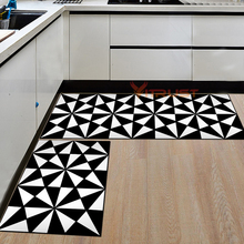 Modern Kitchen Rug Mat Bathroom Carpet Corridor Entrance Doormat Hallway Balcony Area Rug Washable Non-slip Living Room Bedside