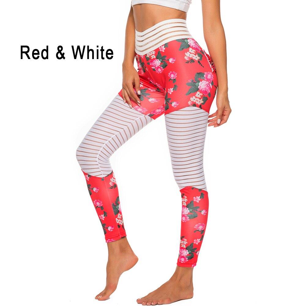 Women Floral Printed Push Up Leggings 16